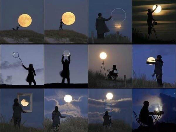 Creatief met de maan! http://t.co/CNc7K7Eqd5