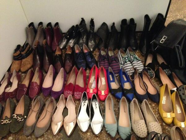 We're officially #makingsept! Follow as we live-tweet the making of our biggest fashion issue. So. Many. Shoes. http://t.co/tnuT8bZ3SL