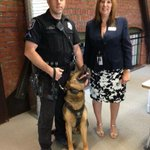 RT @SpokanePD: At the @PawPrintGenes grand opening ceremony w/ @LisaGShaffer, our K9 Leo and Ofc. Hamilton http://t.co/lFz8o1srqZ