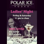 No cover &amp; $5 cocktails for ladies after 11 tonight! #LadiesNight @GeorgeStLive http://t.co/DA8W3YBwUT