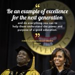 RT @FLOTUS: RT if you believe in the power of a good education. http://t.co/3rrOoDhszk
