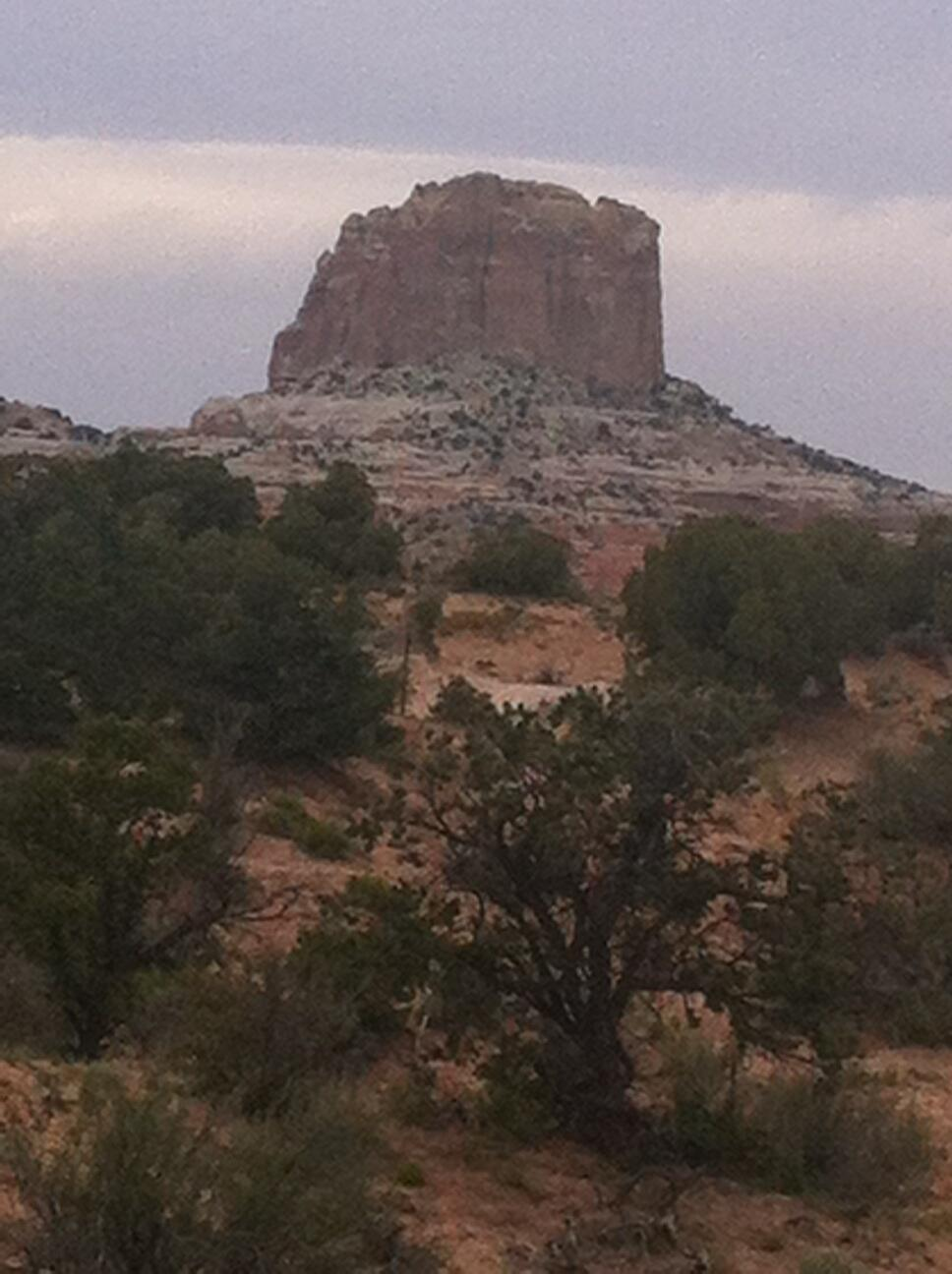 At Square Butte on Highway 98 in Northern Arizona http://t.co/vHIcP3Zz6g