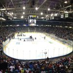 Opening ceremonies at the #MCMemorialCup2013 London vs Saskatoon. http://t.co/nuPYbLtmtS