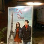 Ishkq in paris standee at cinemax andheri