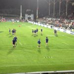 RT @alanhsmith: Perfect view of @bluesrugbyteam warming up in front of us! #bluesnation # trueblue http://t.co/Yrx05BvpZR