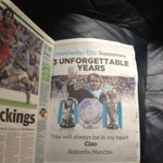 :(:(:(:(:( RT @bluemoon_mcfc: Nice touch from Mancini in todays MEN. Ciao Roberto, thanks for the memories. http://t.co/EUetD44y6h