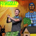 Ayo Zuckerbeg Not takn any less than a ice cold #billion jacc ! #snoopify #zuck