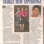 An article on #TVSK's music by C. Sathya in Chennai Times today ... thanks @msuganth ...@khushsundar