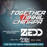 Lets get TOGETHER tonight! Tune in to http://t.co/RYpUTuQa0I at 9pm for 4 hours of EDM. #TGTR67