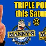 Triple Point Saturday all Locations plus Live Music @ N. Charleston Patio starting at 11:30am with great Bear Deals! http://t.co/SJiKgeR7DN