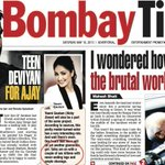 RT @AnujGurwara: Bombay Times. #WTF