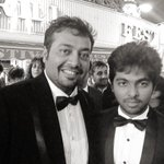 With Anurag Kashyap yest at the screenings ...