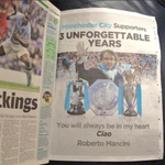 Roberto Mancini pays for a full-page ad in todays Manchester Evening News - to thank the Man CIty fans. http://t.co/32hRatBrYa @bettsy50