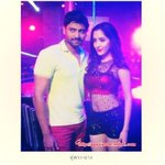 RT @sillijo: @iSumanth  with his Co Star #PinkySavika
