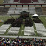 Graduation is underway inside Washington-Grizzly Stadium. #GoGriz. http://t.co/20jYb7abI7