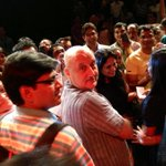 Just watched a life altering play.. Kuch Bhi Ho Sakta Hai... Thank u Kher saab
