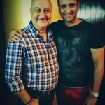 Thank u 4 coming.:) @rohitroy500: thank u Kher saab for the inspiration I needed.. Wakai, kuch bhi ho sakta hai... http://t.co/krfiyASog2