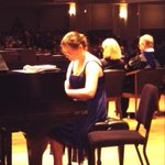 Alexandra Lee dazzling us with her Bach--amazing! #BowlesCC http://t.co/agaLWG4RQZ