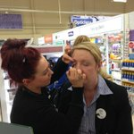 Store manager make overs!!! Looking good Jayne!!!! http://t.co/41SroujAIT