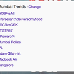 #TGTRFamily on steroids! :) RT @TGTROnline: There you go. Trending in #Mumbai @nikhilchinapa @djnawed