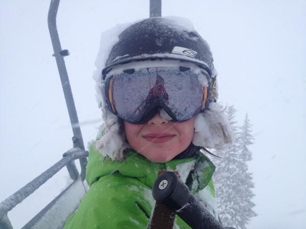 RT @dfields: May 18 powder day for Charlie. @Snowbird http://t.co/curNtdDtXA