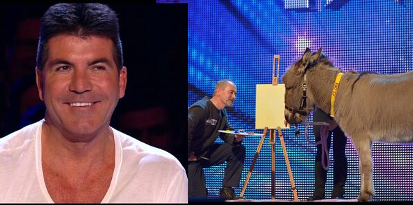 It's almost @GotTalent Showtime! Are you ready for laughter, tears and er.… a donkey!? #BGT http://t.co/ynhOq426uX