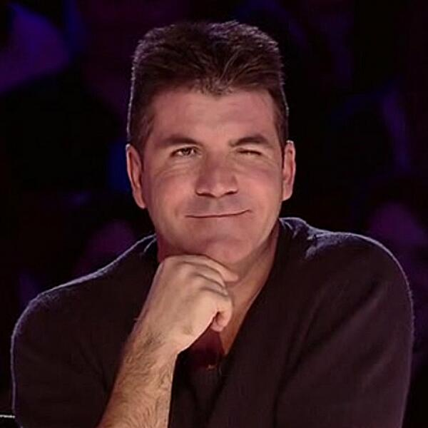 """Simon Cowell: """"There's something special about her"""" Aliki gets the famous wink too. Did you see something special? http://t.co/OSOAQ23gsu"""