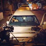 : Last scene and were done! Car-mounted cameras and a funeral car.  #tapingday ! @devonseron17 http://t.co/RovZbmT2vL
