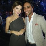 &quot;@IdolAhmedGamal: with the moon face :) @NancyAjram 