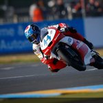 Miguel Oliveira will be racing from grid position #2 today at Le Mans. Watch&cheer for him.. http://t.co/JxYz0iuaz9