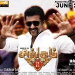 #Singam2 - Audio From 2nd June #surtax
