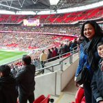 Football match@wembley a dream,an electrifying atmosphere