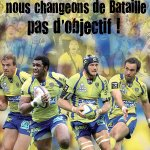 Nous repartons au combat avec notre #YellowArmy #TOP14 #ASMCO http://t.co/3B258EsOBo