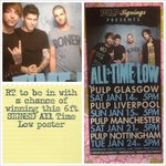 Anyone want a 6ft SIGNED @AllTimeLow poster? just RT to be in with a chance of winning, winner announced tonight 8pm http://t.co/64cgIedm35