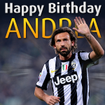 RT @juventusfc: Buon compleanno al &quot;faro&quot; della Juventus. Fate i vostri auguri ad Andrea Pirlo! #HappyBirthdayPirlo http://t.co/T1nxjJ2p9z