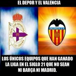 RT @FotMemeDeportes: DEPOR Y VALENCIA http://t.co/2jT9N2oQex