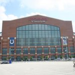 At Lucas Oil Stadium in Indy. The House that Peyton Built. http://t.co/yEbLpQ3bpV