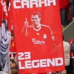 RT @LFC: Carra banner in The Kop today: #thankscarra http://t.co/CjJWT1cSzA