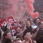 RT @RedMancunian: [Picture] Red flare in the Manchester United away end at the Hawthorns against West Brom http://t.co/NJqGNlkUWb