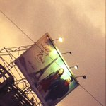 Ishkq in paris hoardings all over mumbai city :-)) 24th may