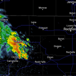 RT@WxJoeA: Isolated tstorm affecting Carroll County. Moving NE. SE Jo Daviess, NW Ogle, Stephenson County next. -Joe http://t.co/rgxaGNRhmy