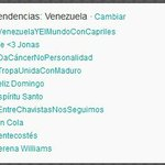 Vamos todos con #VenezuelaYElMundoConCapriles ya estamos en 1er lugar, una batalla ganada a los robots de Mario Silva http://t.co/mMvrw8fHCz