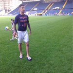 Following wba 5-5 with ManU @liam_ridgewell pays tribute to the recently retired Petrov http://t.co/l3NKXna1Kr gone up in my estimations