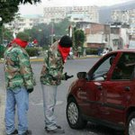 &quot;@jansix00: Tupamaros de Chavez y ahora de Maduro cobrando alcabala. #venezuelayelmundoconcapriles http://t.co/pEf8qLrrVM&quot;