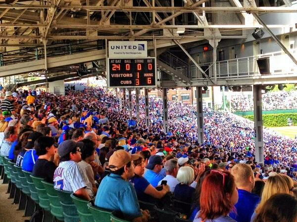#Cubs are still leading 3-1 heading into the 7th inning. #CubsvsMets http://t.co/mMON3KSH0P