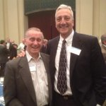 Catching up with Apollo astronaut Walt Cunningham last night