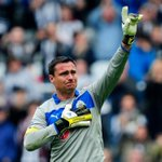 RT @nufcfans: All too much for Steve Harper #ThanksHarper #NUFC http://t.co/YAfnzI9Rzk