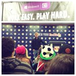 RT @MLS: Postgame meet and greet with @DaxMcCarty11 and a few lucky winners of Surface RTs from @windows. #windows8