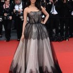 Thank You #DolceGabbana for the lovely gown,#Cannes Film Festival