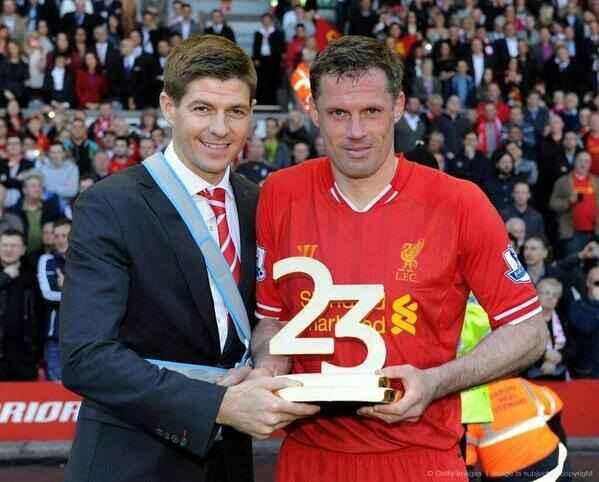 Carra and Stevie. #Boss http://t.co/mHHHaDm53y
